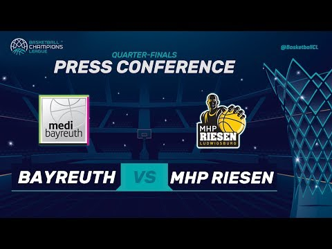 medi Bayreuth v MHP Riesen Ludwigsburg - Press Conference - Basketball Champions League 2017