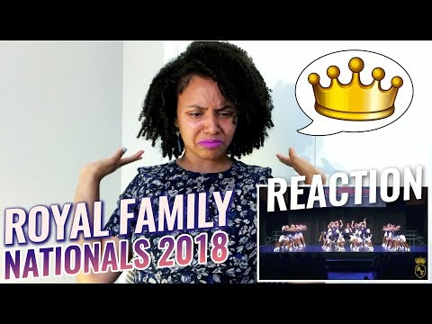 The Royal Family - Nationals 2018 (Guest Dance Performance) | M-Angel REACTION