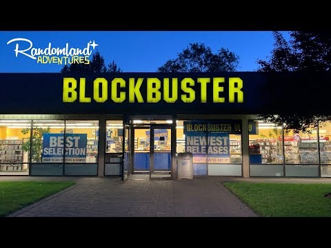 The last BLOCKBUSTER video on earth!