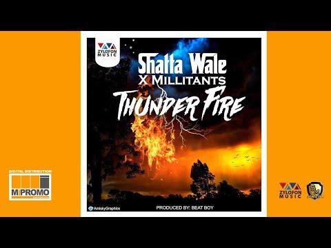 Shatta Wale - Thunder Fire ft. SM Militants (Audio Slide)