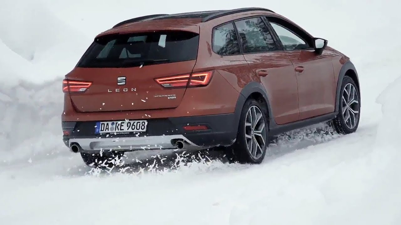 seat leon st x perience eclipse orange seat snow experience youtube. Black Bedroom Furniture Sets. Home Design Ideas