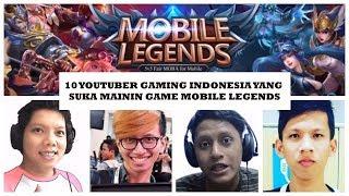 Sepuluh (10) Youtuber Gaming Indonesia yang Sering Mainin Game Mobile Legends