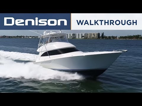 55 Viking Sportfish Yacht Tour [Walkthrough]