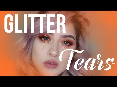 GLITTER TEARS MAKE UP TUTORIAL