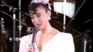 1986年10月21日。 外務省の主催で岩崎宏美さんのコンサートがエジプトで...