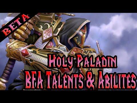 BFA Beta Class Overview: Holy Paladin