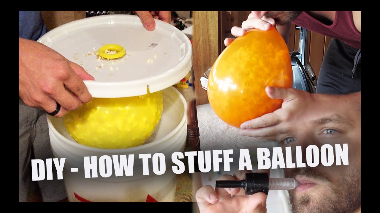 How To Stuff A Balloon For Under 10 Youtube