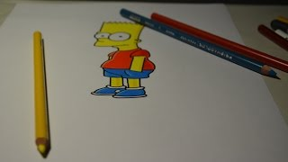 How to draw / Como dibujar  / Bart Simpson - Speed Painting(How to draw Bart Simpson - Speed Painting Como dibujar Bart Simpson 如何繪製巴特·辛普森速度繪畫 Как нарисовать Барта Симпсона - Скорость Живоп..., 2015-12-30T23:18:54.000Z)