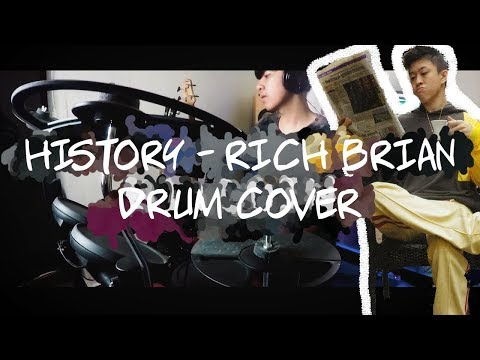 RICH BRIAN - HISTORY | DRUM COVER