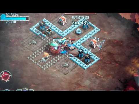 Castle Clash New Hero Wild Rhinoceros In Dungeon Action