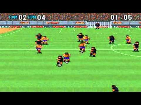 Super Formation Soccer 2 : Rumania VS Human