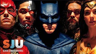 Justice League Movie Poster Revealed!  - SJU w/ Preacher/Fargo's Julie Ann Emery!