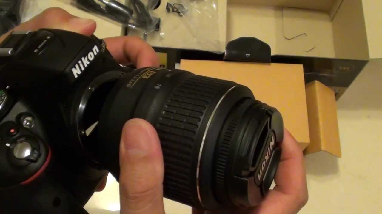 Nikon D5300 How To Attach Or Detach A Camera Lens Youtube Where Get Parts Diagram For D5000 Slr With Dx Vr Afs