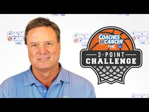 Kansas Jayhawks: Coaches Vs Cancer 3-Point Challenge