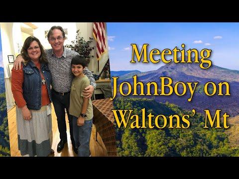 a Day on WALTON'S MOUNTAIN with John Boy (Richard Thomas)