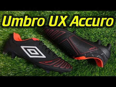 Umbro UX Accuro Pro (Black/Grenadine) - Review + On Feet