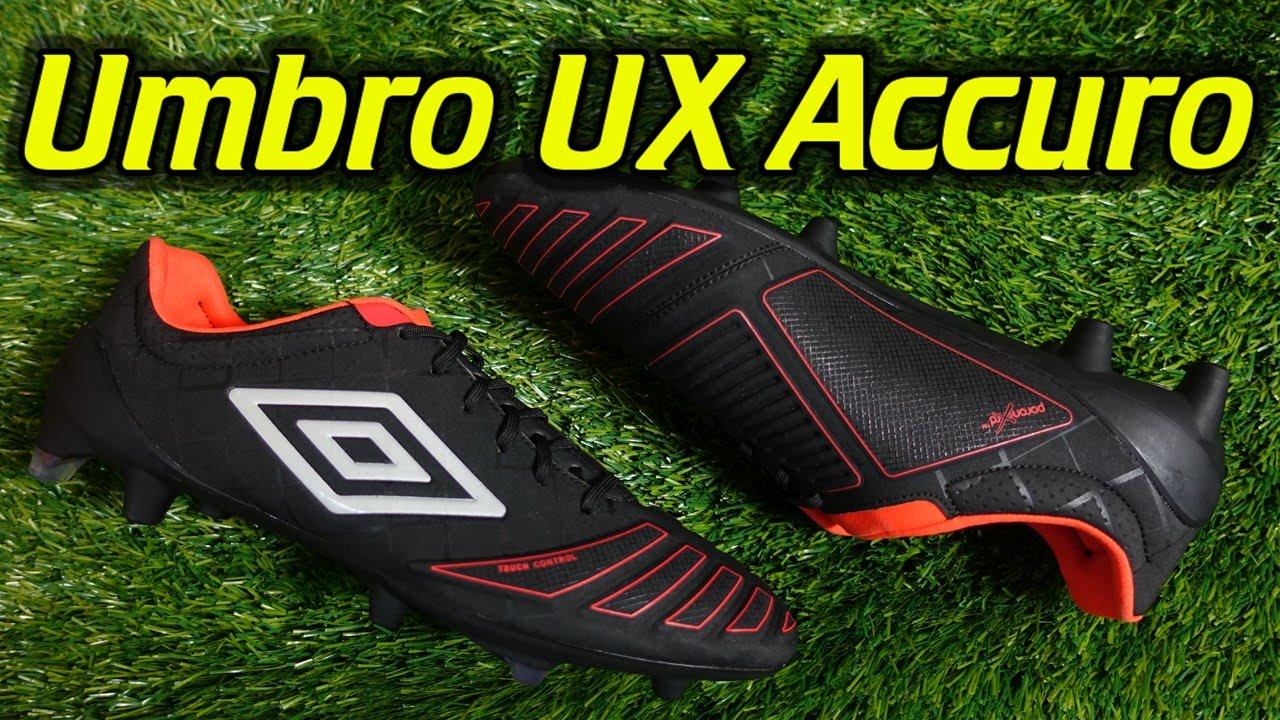 5954ea3d5 Umbro UX Accuro Pro (Black/Grenadine) - Review + On Feet - YouTube