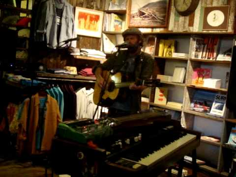 Neil Halstead -- Wittgenstein's Arm [11/15] LIVE at Mollusk Surf Shop, Venice Beach CA 5-8-2012