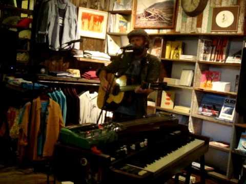 Neil Halstead -- Wittgenstein's Arm [11/15] LIVE @ Mollusk Surf Shop, Venice Beach CA 05-8-2012
