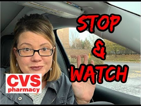 CVS STOP & WATCH VIDEO | MUST HOLD CRT'S | BONUS MAKEUP COUPON | 90% CLEARANCE💃