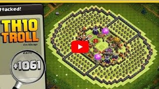 Phenomenal TH10 Troll Base | The Colosseum | +1000 CUPS IN 1 DAY! | Clash of Clans
