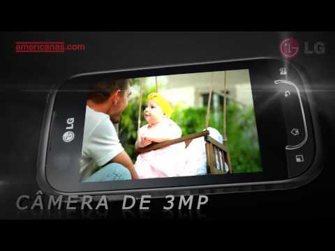 Smartphone LG Optimus Net Dual | Americanas.com