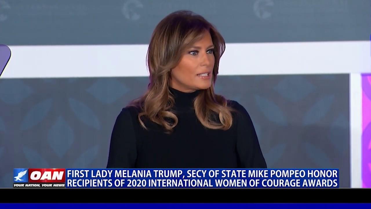 First Lady, Secy. Pompeo honor recipients of 2020 International Woman of Courage Awards