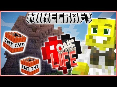 SCARIEST MOMENT YET!! | Minecraft One Life...