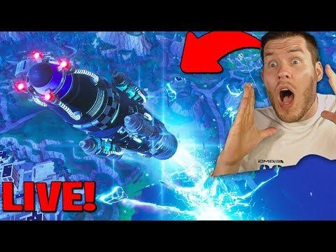 du glaubst niemals was passiert ist! Rakete in Fortnite gestartet!