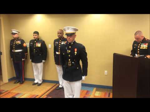 AO Marine Officer Commissioning 3-20-15