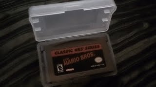 GBA Super Mario Bros Unboxing