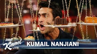 Download Kumail Nanjiani Has Pizza & Cake for First Time in a Year Mp3 and Videos