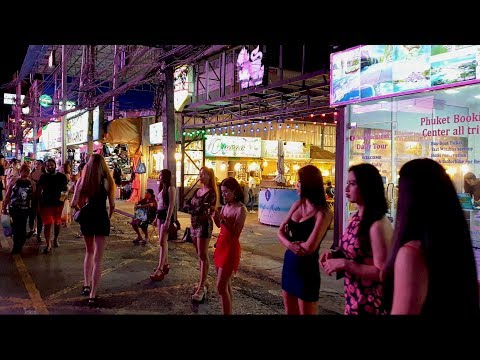 Bangla Road: WALKING TOUR, Patong, Phuket, Thailand [4K] [2020]