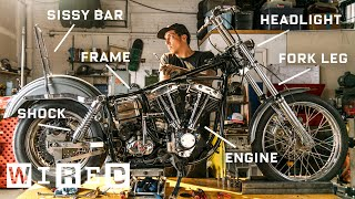 Every Part of a 1974 Harley-Davidson Explained | WIRED