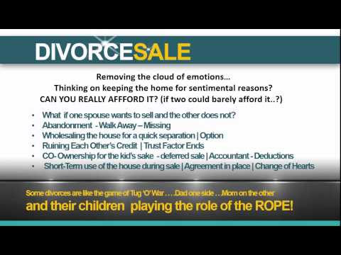 Home Selling Tips When You Divorce: When You Split, Quit & Ready To List
