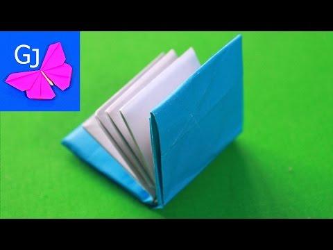 Оригами Книжка из бумаги ❤️ Как правильно сделать страницы