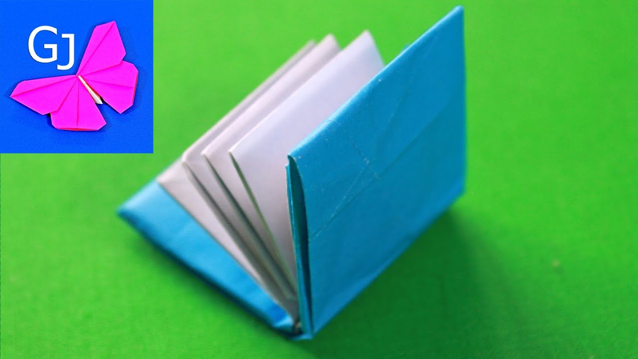Схема книжки из бумаги