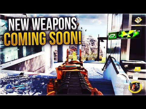 TONS OF NEW WEAPONS COMING SOON to INFINITE WARFARE!: MODEL 2187, BARRET, GAUSS, LONGSHOT, + MORE!!