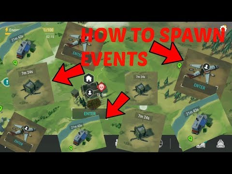HOW TO SUMMON EVENTS (AIR DROP, PLANE CRASH, TRADER) - LAST DAY ON EARTH: SURVIVAL