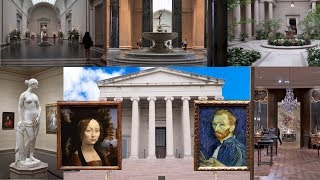 4K Walking Tour of the National Gallery of Art in Washington, DC