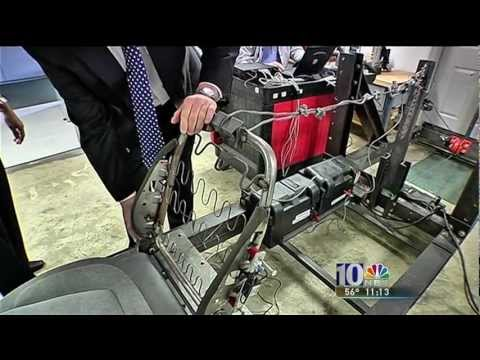NBC Philadelphia News Program on Collapsing Seats part2, ARCCA