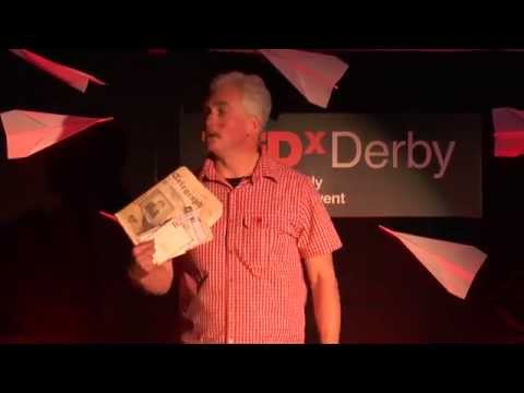 Is modern communication destroying adventure: Nigel Vardy at TEDxDerby