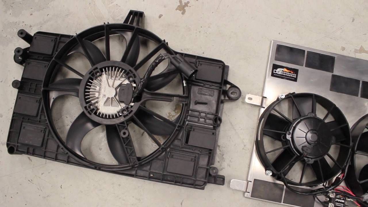 hight resolution of c7 corvette dual spal fan shroud kit