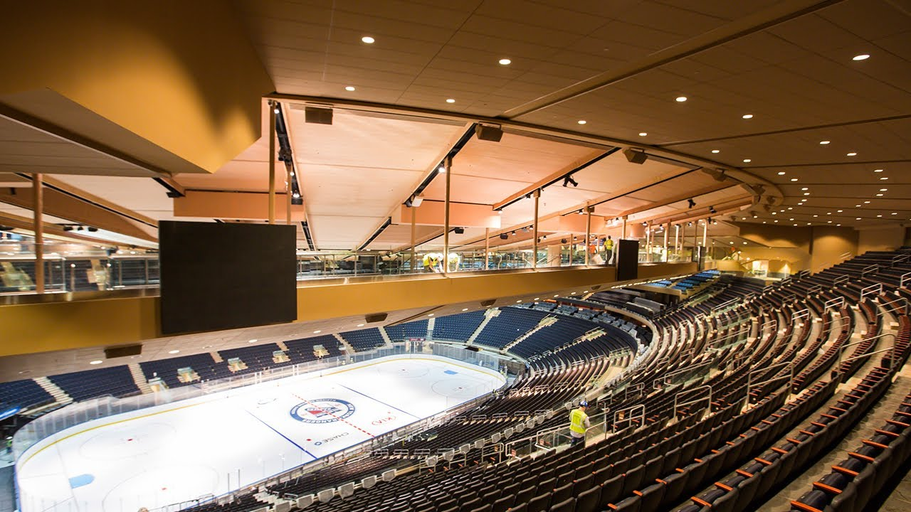 Madison Square Garden transformation time-lapse - YouTube