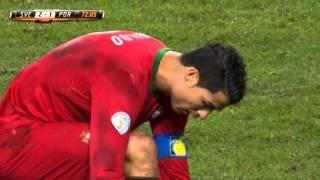 Zlatan bombar in 2-1 mot Portugal