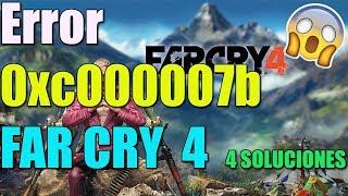 Error 0xc000007b FAR CRY 4 en Windows 10/8/7 I 4 SOLUCIONES 2018