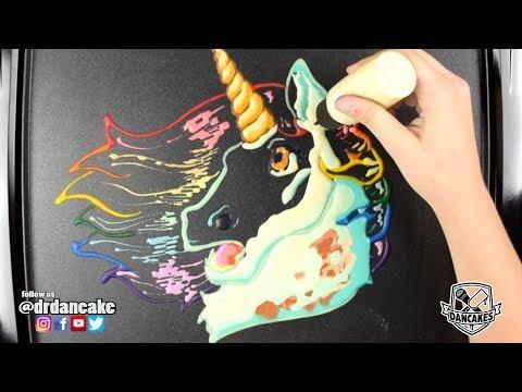 Unicorn - Relaxing Pancake Art