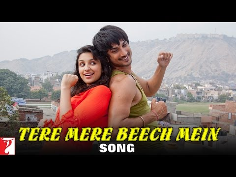 Tere Mere Beech Mein Song  Shuddh Desi Romance  Sushant Singh  Parineeti  Sunidhi  Mohit