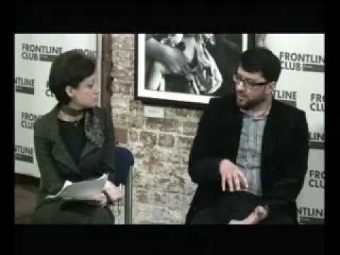 "Frontline club/BBC Arabic Event ""Crisis in Syria - what can be done?"" Rasha Qandeel"