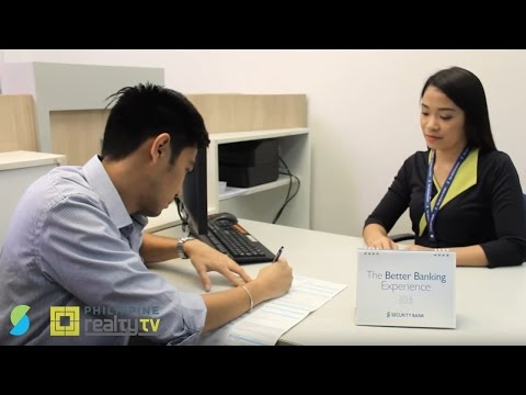 Philippine Realty TV: Low Interest Rates and Fast Approval with Security Bank Home Loan